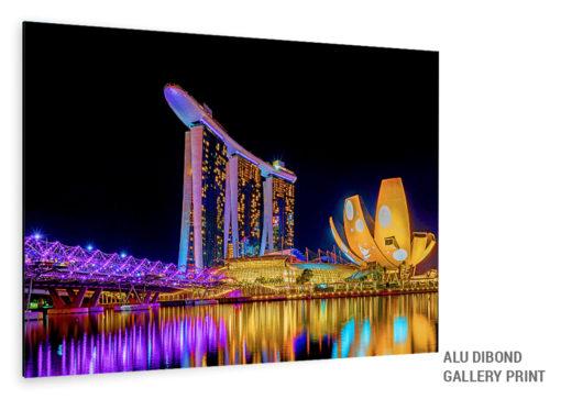 Singapur Bild Alu Dibond
