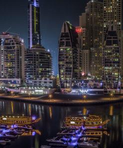 Dubai Marina Wall Art