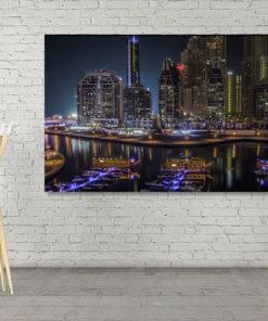 Wall Art Dubai Hafen