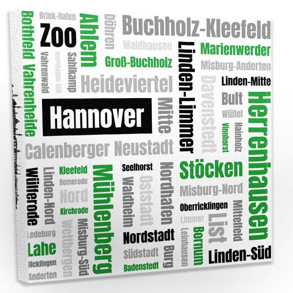 Hannover Leinwand Bild