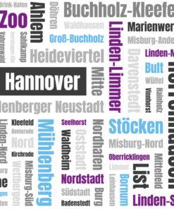 Typo Art Bild Hannover