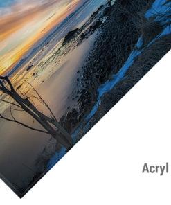 Acryl Bild Island Reykjavik