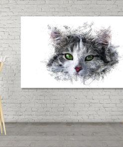 Katze Wall Art