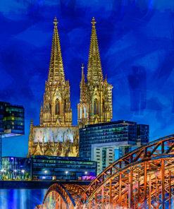 Köln Collage Pop Art Bild