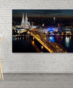 Bild Köln bei Nacht