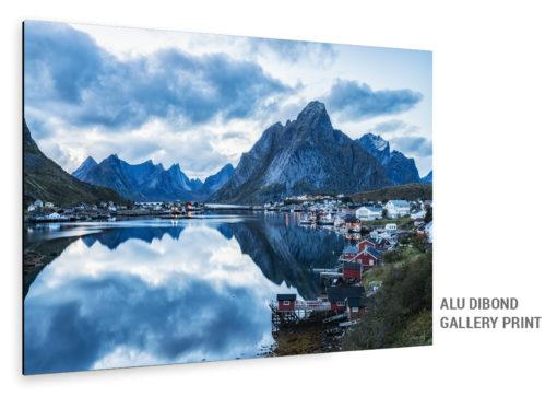 Aludibond Bild Reine Lofoten