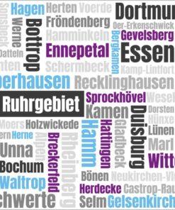 Typo Art Ruhrgebiet