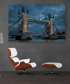 Towerbridge Art Bild