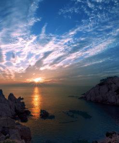 Sonnenuntergang Ulsan Wall Art