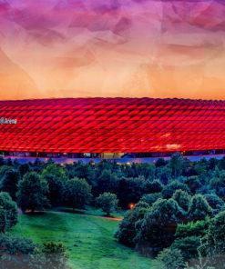 Stadion München Pop Art