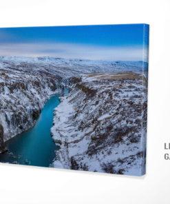 Island Leinwandbild
