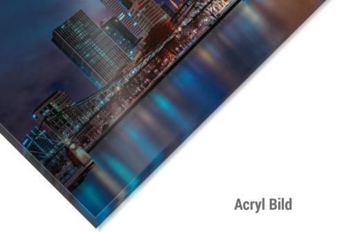 Acrylbild Frankfurt