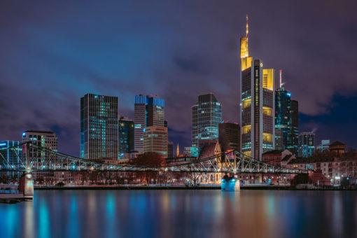 Frankfurt Skyline Wall Art