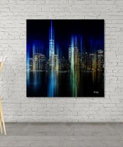 Wall Art NYC Blue