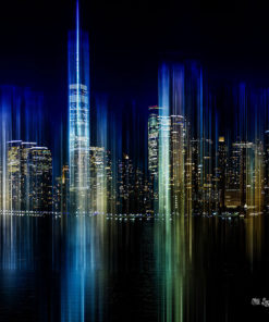 Light Art Bild NYC