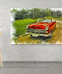 Wall Art Oldtimer