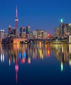 Toronto Skyline Wall Art