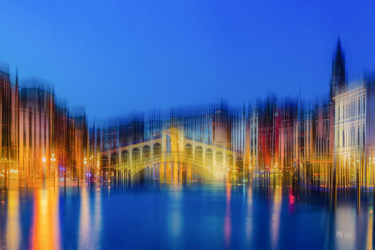 Venice Light Art Bild