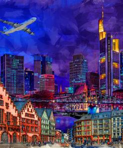 Frankfurt Pop Art Bild