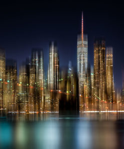Light Art Bild Manhattan