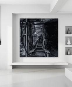 Wall Art Bergwerk